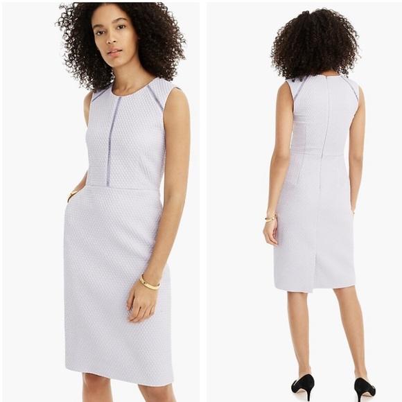 J. Crew Dresses & Skirts - J crew sweet hyacinth purple portfolio sheath dres